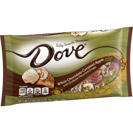 Dove Halloween White Chocolate Caramel Apple - 7.94oz
