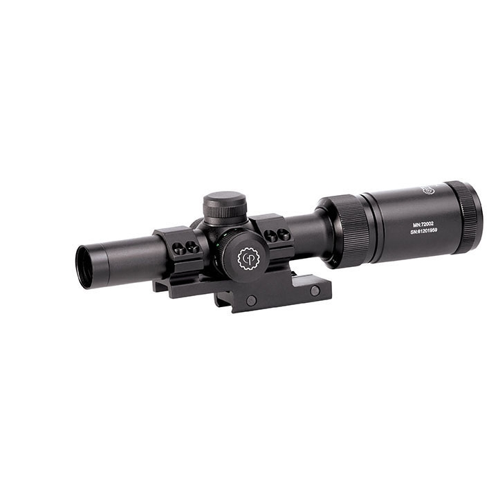 1-4x20mm Cqb Moa Dot Rifle Scope Tactical Airsoft Gun Rifle Scope Black by CENTER POINT
