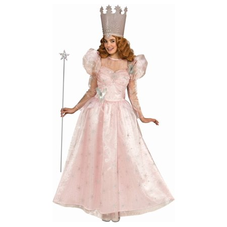 Plus Size Adult Glinda the Good Witch Deluxe Costume (Kids Good Witch Costume)