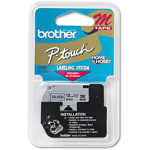 Brother M931 Non-Laminated Tape Cartridge