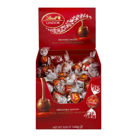 Lindt Lindor Milk Chocolate Truffles - 120 PC, 120.0 PIECE(S)