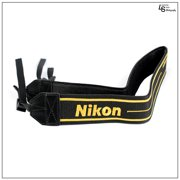 Black and Yellow Nikon Golden 90th Anniversary Neck Shoulder Sling Strap for DSLR Cameras by Loadstone Studio WMLS0423
