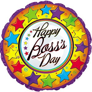 Colorful Boss's Day Stars 17