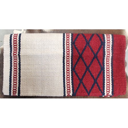 34x36 Horse Wool Western Show Trail SADDLE BLANKET Rodeo Pad Rug  36S413