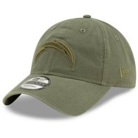 Los Angeles Chargers New Era Core Classic Tonal 9TWENTY Adjustable Hat - Olive - OSFA