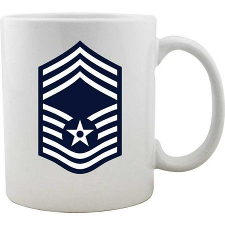 Airforce Rank Chief Master Sergeant Coffee Mug (Sergeant Coffee Mug)