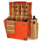 Wooden Picnic Carrier in Multicolor