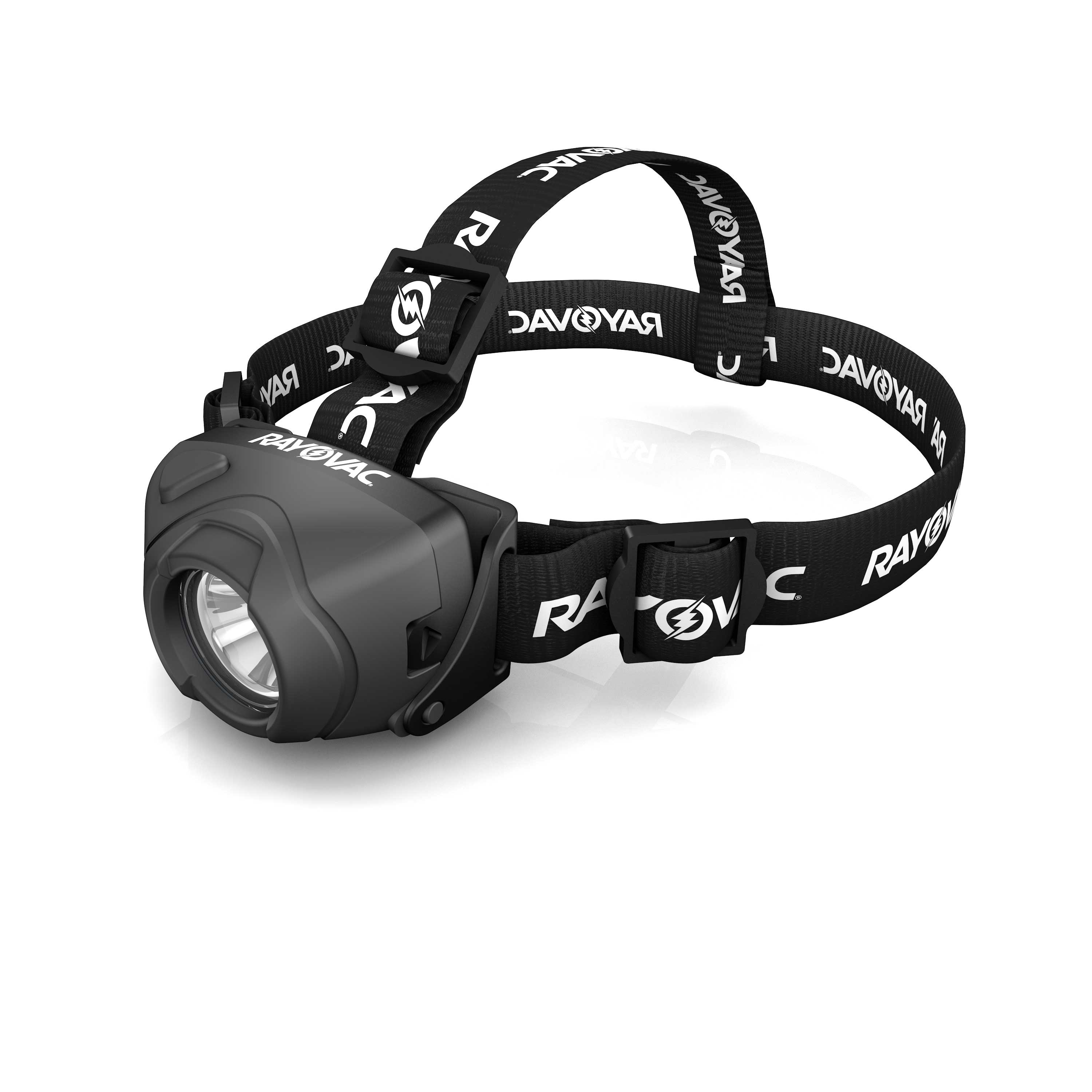 Rayovac Workhorse Pro 3AAA CREE LED Virtually Indestructible High Powered Headlight DIYPHL3AAA-BTA