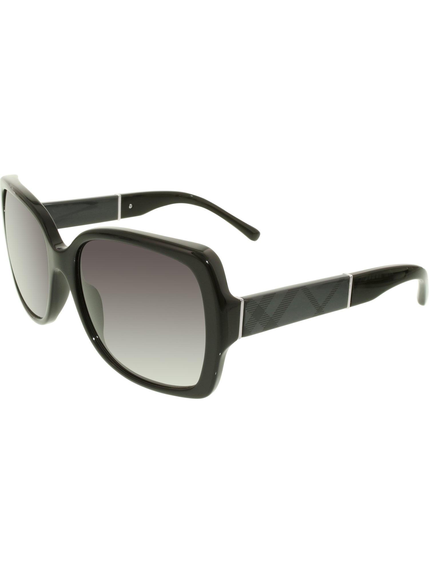 a6f2778d551d Burberry - Women s Gradient BE4160-30018G-58 Black Square Sunglasses -  Walmart.com