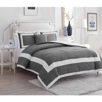 VCNY Home Avianna 4-Piece Hotel Bedding Comforter Set, Multiple Colors Available