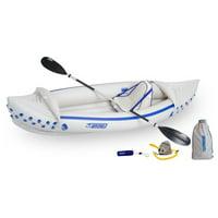 Sea Eagle SE330 Inflatable Pro Solo Sport Kayak