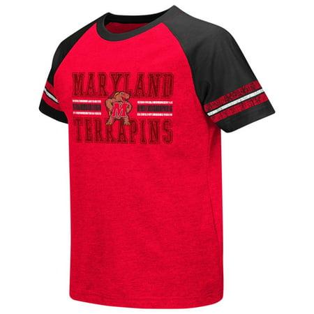 - University of Maryland Terps Youth Houseman Raglan Short Sleeve Tee