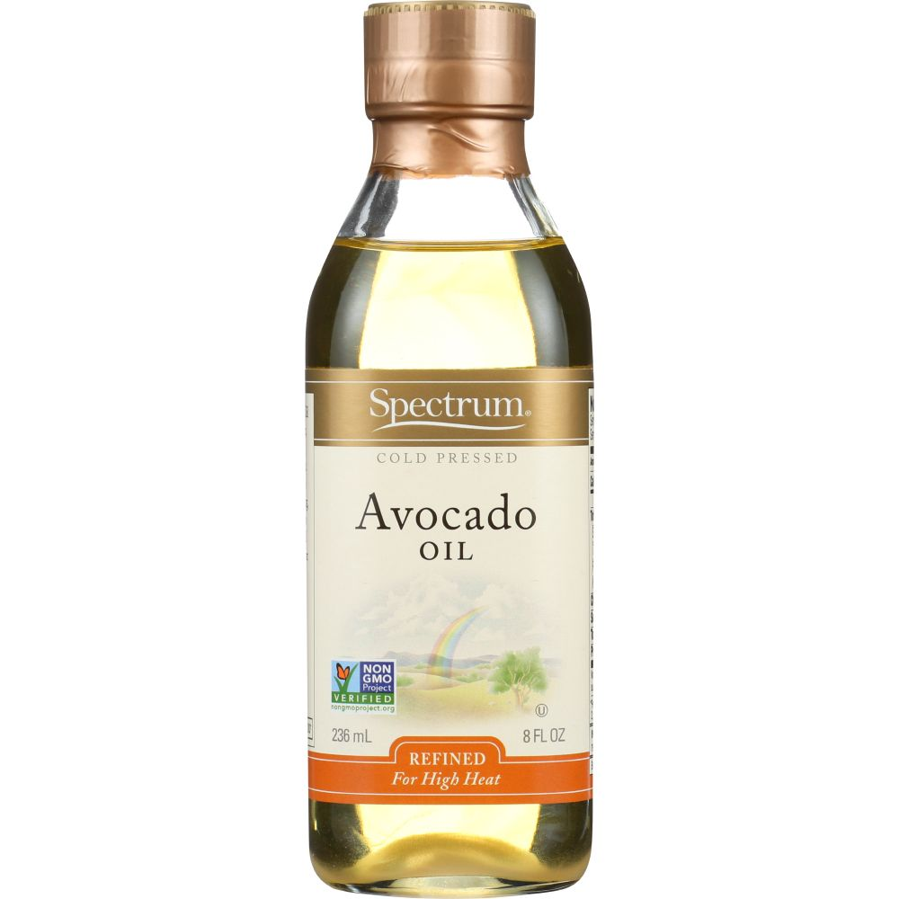 Spectrum Naturals Avocado Oil, Refined 8 Oz (Pack Of 6)