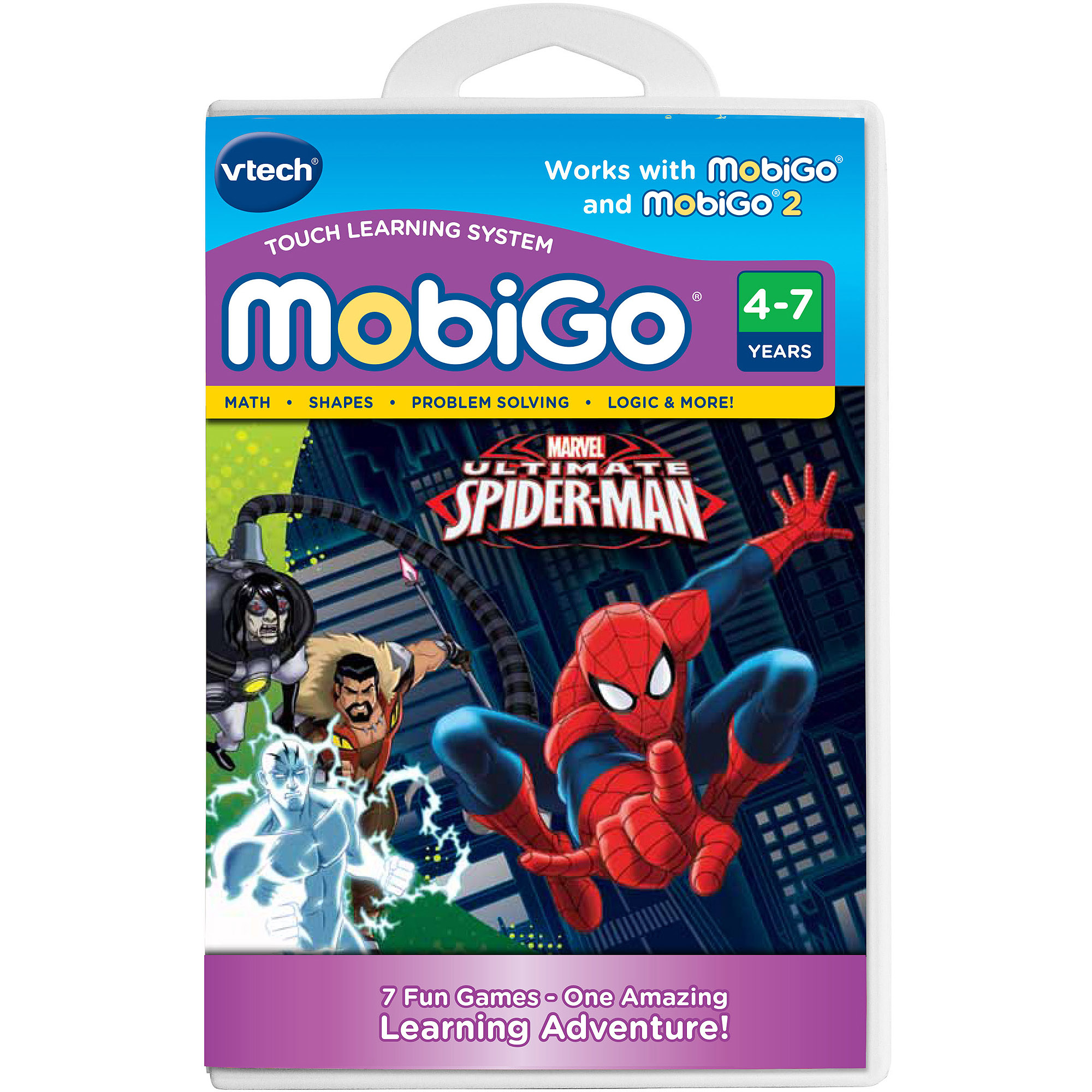 VTech MobiGo Software, Spider-Man by VTech