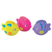 Playgro Ocean Friends Squirtees (Pink) for Baby Infant Toddler