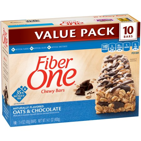 Fiber One Chewy Bars Oats And Chocolate   Oz Bars