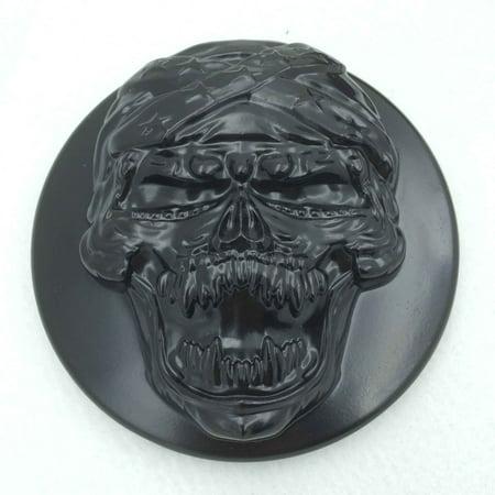 HTT-MOTOR Black Skull Zombie Air Cleaner Intake Filter System Kit For Harley Sportster XL883 XL1200 1988-1990 1991 1992 1993 1994 1995 1996 1997 1998 1999 2010 2011 2012 2013 2014 (Air Jordan 3 88 Black Cement 2013)