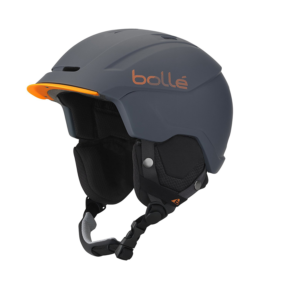 Bolle Winter Instinct Soft Grey & Orange 54-58cm 31410 Ski Helmet BOA Closure by Bolle