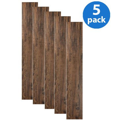 Tivoli II (5 Cartons-50 Planks) 6x36 Peel N Stick Vinyl Planks - 75 Sq.Ft., (Installing Vinyl Peel And Stick Plank Flooring)