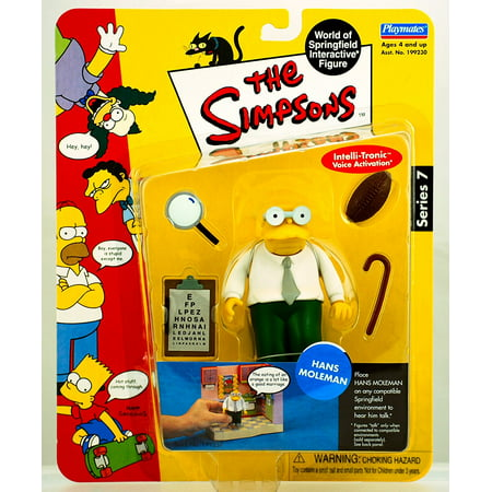 Watch The Simpsons Halloween Online (Series 7 Action Figure Hans Moleman, HANS MOLEMAN The Simpsons Series 7 World Of Springfield Interactive Action Figure By The Simpsons From)