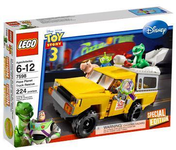 Toy Story 3 Pizza Planet Truck Rescue Set Lego 7598 by