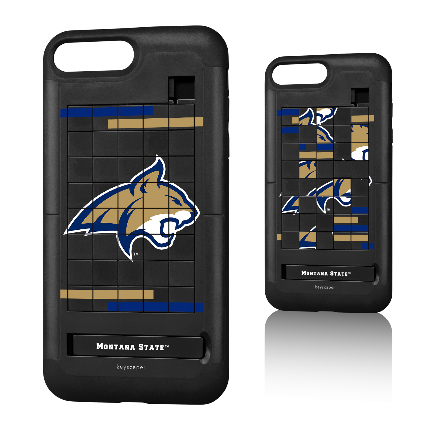 Montana State Bobcats iPhone 7 Plus / iPhone 8 Plus Puzzle Case NCAA