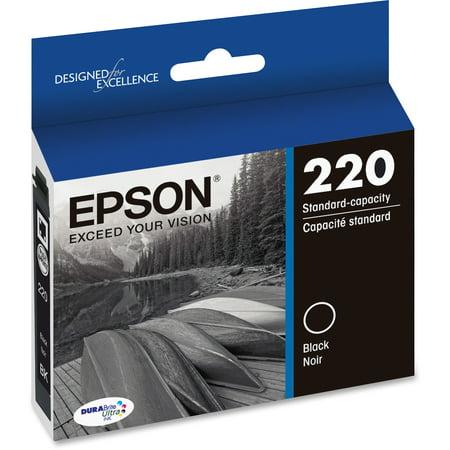 Epson 220 DURABrite Ultra Ink Original Black Ink Cartridge (Epson 3540 Printer Ink)