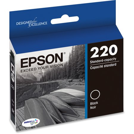 Epson 220 DURABrite Ultra Ink Original Black Ink Cartridge (Printer Ink Epson Xp400)
