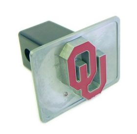 Oklahoma Sooners Trailer Hitch Cover