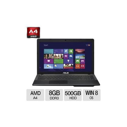 "Asus X552EA-DH42 AMD A4 8GB Memory 500GB HDD 15.6"" Notebook Windows 8 64-Bit - X"
