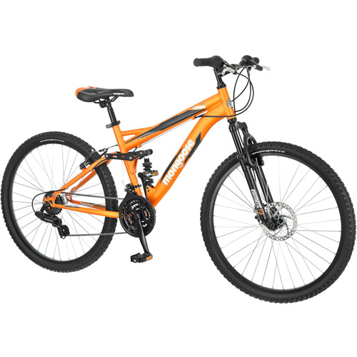 "26"" Mongoose Ledge 2.2 Men's Mountain Bike, Orange"