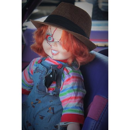 LAMINATED POSTER Halloween Doll Haunted Doll Pediophobia Chucky Poster Print 24 x 36