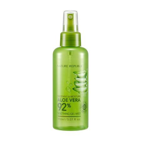(6 Pack) NATURE REPUBLIC Aloe Vera 92% Soothing Gel Mist