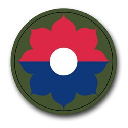 """US Army 9th Infantry Division Patch Decal Sticker 3.8"""""""