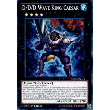 YuGiOh Pendulum Domination Structure Deck D/D/D Wave King Caesar SDPD-EN043 ()