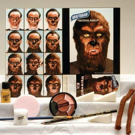 Graftobian Professional Werewolf Makeup Kit