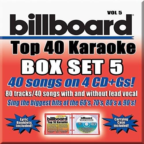 Karaoke Cd G Billboards Box Set 5
