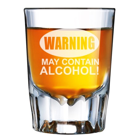 Halloween Themed Alcohol Shots (Warning May Contain Alcohol Engraved Barcraft Fluted Shot)