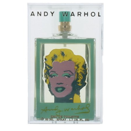 Marilyn Bleu by Andy Warhol for Women EDT Perfume Spray 1.7 oz. New in Box