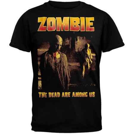 Zombie - Dead Are Among Us T-Shirt (Zombie Crew)