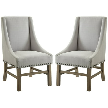 - A Line Furniture Vintage 18th Century French Neoclassic Design Dining Chair with Nailhead Trim (Set of 2)