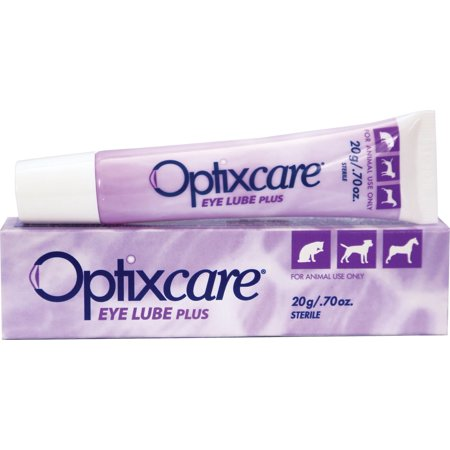 Optixcare Eye Lube Plus for Dogs, Cats, & Horses, 0.7 oz. (Cat Eye Oversized-brille)
