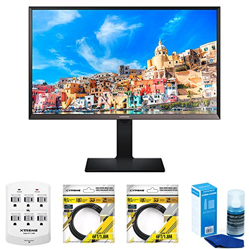 "Samsung 32"" WQHD LED Monitor (S32D850T) with Xtreme 6 Out..."