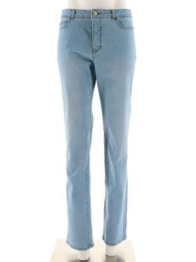 e23ec9b2f2883 Product Image Isaac Mizrahi TRUE DENIM Straight Leg Jeans A274473