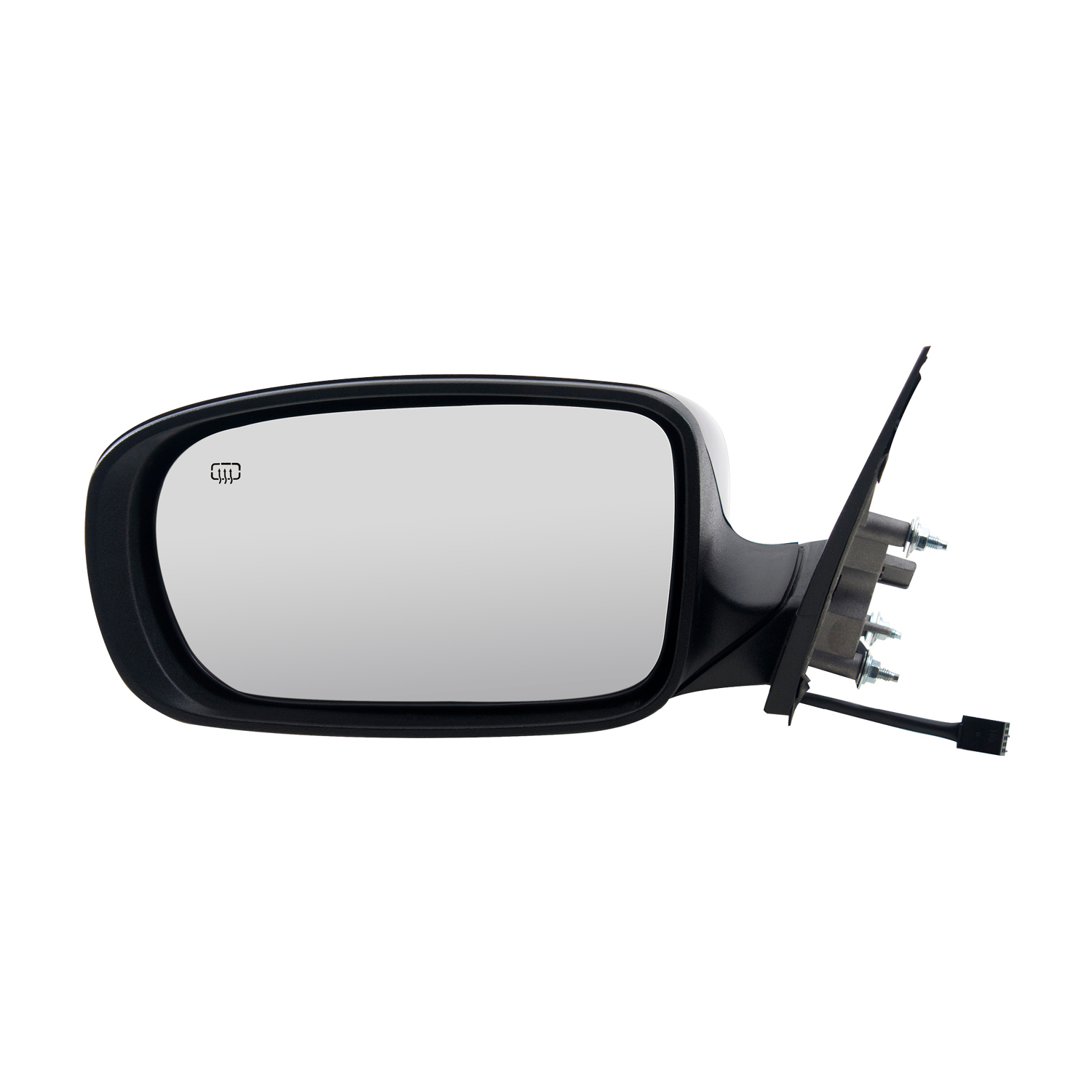 w//o Memory Code GTS//X8 Fit System Passenger Side Mirror for Chrysler 300 Sedan Textured Black w//PTM Cover Heated Power Foldaway