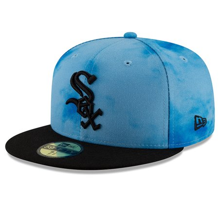 Chicago White Sox New Era 2019 Father's Day On-Field 59FIFTY Fitted Hat - Blue/Black (Era M1)
