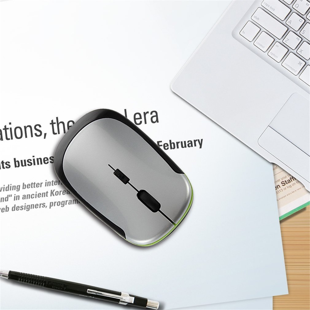 Ergonomical Designed Comfortable 2.4GHz Ultra-Slim Mini 1600DPI USB Wireless Optical Mouse Computer Mouse For PC Laptop JP-350