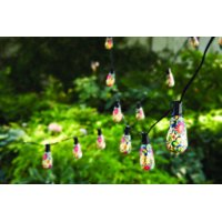 Better Homes & Gardens Mosaic Butterfly String Lights