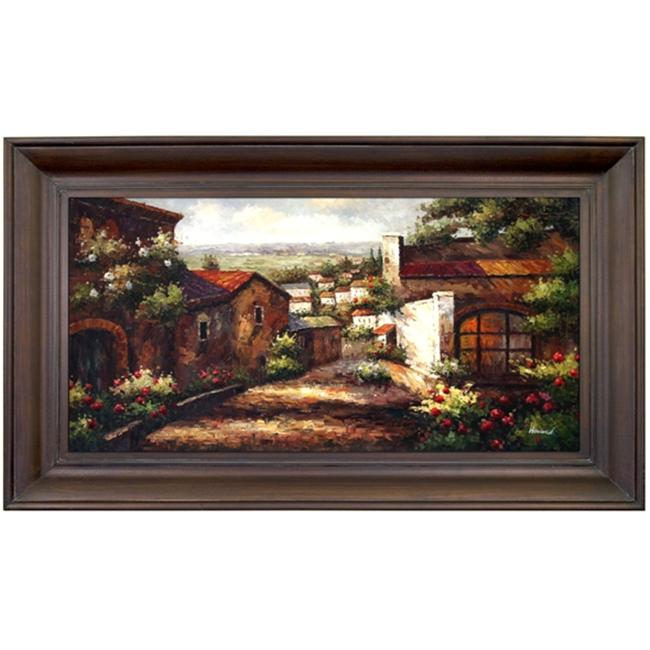 Artmasters Collection PA88517-69594 Afternoon in Provence Framed Oil Painting