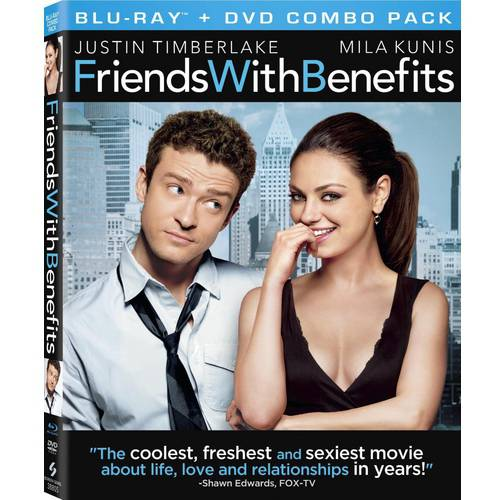 Friends With Benefits (Blu-ray   DVD) (With INSTAWATCH)